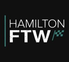 Hamilton For The Win (Dark background) Kids Tee