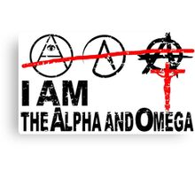 ALPHA OMEGA - THE GREAT PRETENDERS Canvas Print