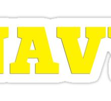 Navy (3) Sticker