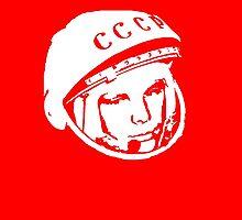 Gagarin by PsychoWren