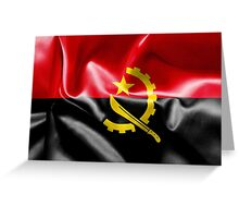 Angola Flag Greeting Card