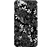 Rosalie Black Drawing with Ink iPhone Case/Skin