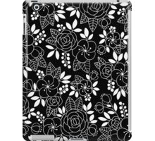 Rosalie Black Drawing with Ink iPad Case/Skin