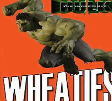 The Incredible Hulk Wheaties Box by ScottDowns