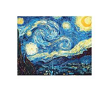 Starry Night Vincent Van Gogh Photographic Print