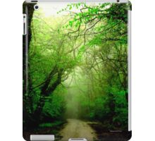 Misty Morning in the Forest iPad Case/Skin