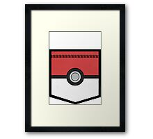 PocketMon Trainer (Pokemon) Framed Print