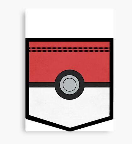 PocketMon Trainer (Pokemon) Canvas Print