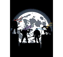 Turtles - TMNT - Under the moon Photographic Print