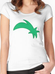 Ferb's hair Women's Fitted Scoop T-Shirt