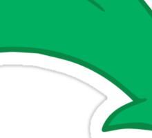 Ferb's hair Sticker