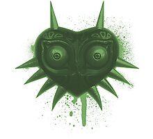 Majora (Green) Photographic Print