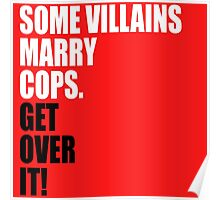 VILLAINS AND COPS Poster