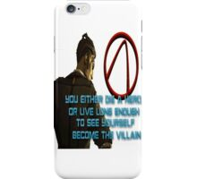 Handsome Jack Die a Hero iPhone Case/Skin