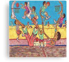 Basketball Daycare Canvas Print