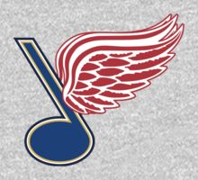 Detroit Blues - St. Louis Red Wings by Phneepers