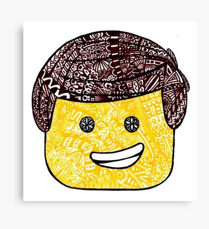 The Lego Movie Zentanlge Emmet Canvas Print
