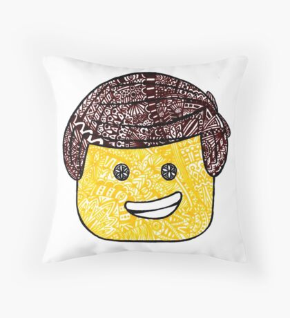 The Lego Movie Zentanlge Emmet Throw Pillow