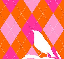 ARGYLE BIRDIE by Julie Roe