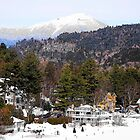 Mirror Lake Inn, Village of Lake Placid NY by John Schneider