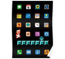 Super Mario iPhone Screen Poster