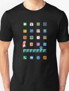 Super Mario iPhone Screen Unisex T-Shirt