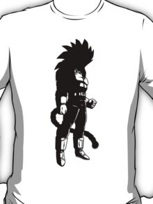 Monkey warrior (black) T-Shirt