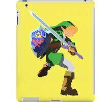 Legend of Zelda, Link Blank Face  iPad Case/Skin