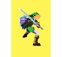 Legend of Zelda, Link Blank Face  Photographic Print