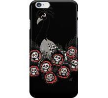 Alternative Peacock of Doom (black) iPhone Case/Skin