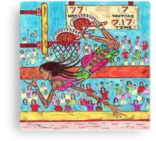 Flying Feet Jam Canvas Print