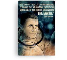 NASA Astronaut Bill Anders Canvas Print