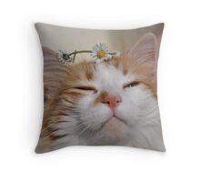 Queen Ruby presiding Throw Pillow