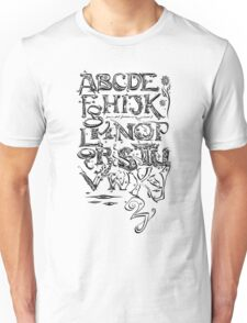 "'Alphabet"" Unisex T-Shirt"
