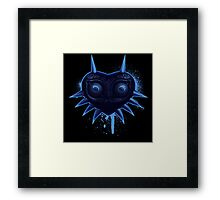 Majora (Blue) Framed Print