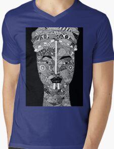 African Woman  Mens V-Neck T-Shirt