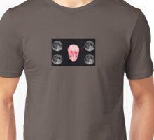 Pink moon skull  Unisex T-Shirt
