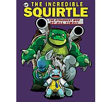 The Incredible Squirtle Photographic Print