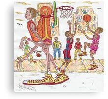 Street Ball Jam Canvas Print