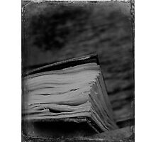 Book Photographic Print