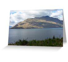 Lake Watatipu, Queenstown Greeting Card