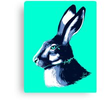 Hare Blues Canvas Print