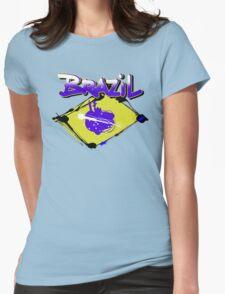 brazil! Womens Fitted T-Shirt