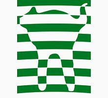 Green striped cat 3 Unisex T-Shirt