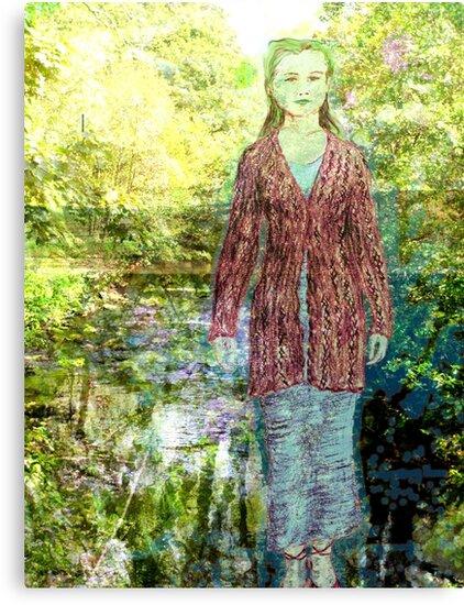 Green Lady by Lee Kerr