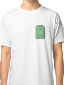 Care Instructions Classic T-Shirt