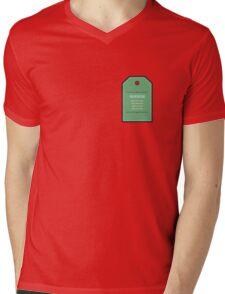 Care Instructions Mens V-Neck T-Shirt