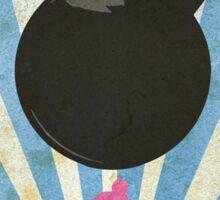 Bomberman Art Deco Style Sticker