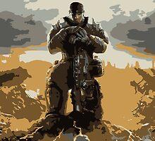 Marcus Fenix Gears of War 3 by MillsLayne