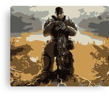 Marcus Fenix Gears of War 3 Canvas Print